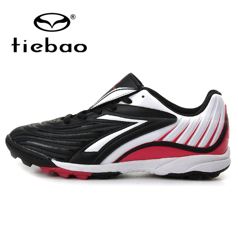 TIEBAO Professional Outdoor Soccer Shoes Men Women TF Turf Sole Football Boots Athletic Training Sports Shoes zapatos de futbol(China (Mainland))