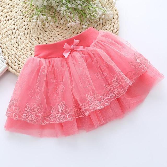 2016 корейской версии детской одежды кружевном платье юбки детей юбки с бантом торт девушка