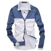 Uyuk the trend all-match sweater outerwear fashion patchwork male thin cardigan winter sweaters men(China (Mainland))