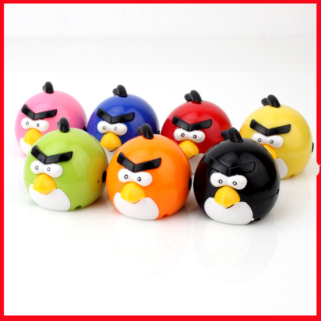 Portable MP3 Player TF Card Slot electronic products Cute colorful bird MP3 music (MP3 only) you can use a USB flash drive(China (Mainland))