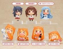 Lolita Sankaku Head Himouto! Umaru-chan Umaru Figure Doma MARMOT Hamsters 8pcs/set 4 CM Model Action Figures Pvc Rinquedo