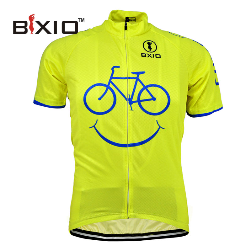 BXIO Cycling Jersey Ropa Ciclismo Mujer Mountain Bike Clothing Short Sleeve Bicycle Clothes 2016 Quick Step Cycle Shirt 085-J(China (Mainland))