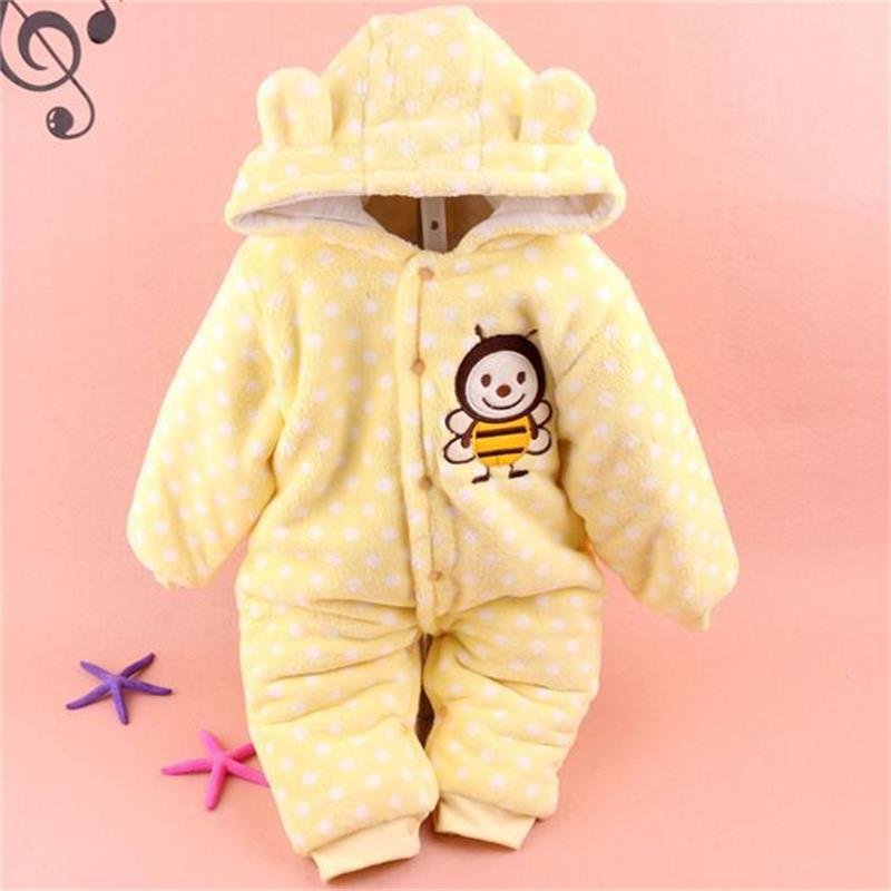 2015 Hot Fashion Newborn One-Piece Baby Boy Clothes Kids Long Sleeve Winter Baby Rompers Infant Jumpsuit Clothing Sets B09