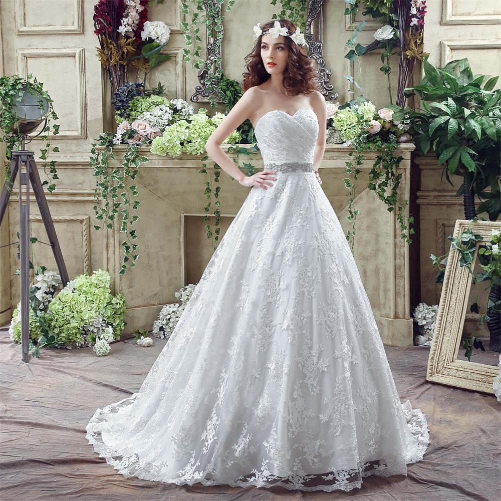 Buy vintage lace wedding dresses ball for Vintage beaded lace wedding dress