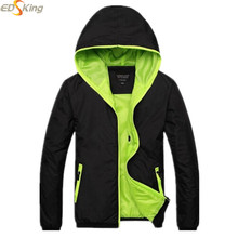 2016 Spring Coat Bomber Hooden Solid Windbreaker Outdoor Jacket Mens Jacket And Coat Army Veste Manteau Homme Chaqueta Hombre(China (Mainland))