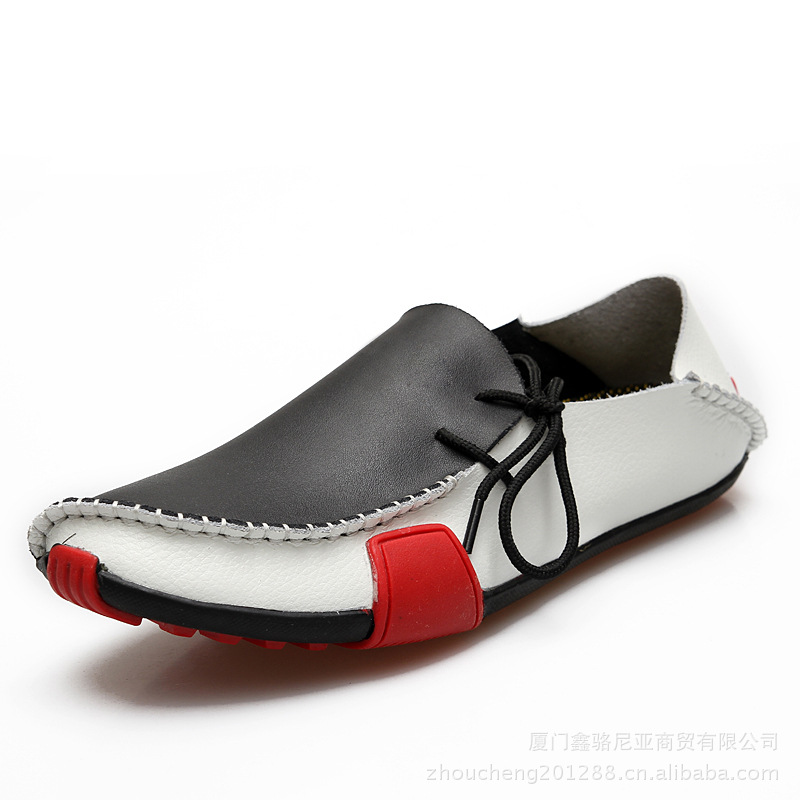 leather shoes casual 2015 summer fashion