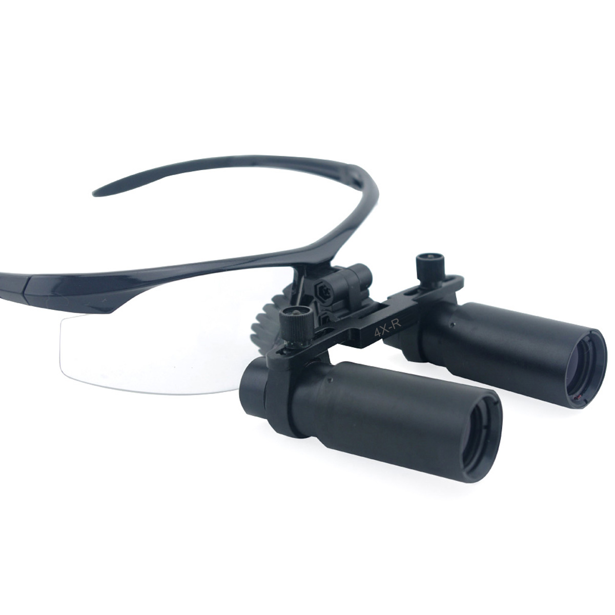 Spark 4.0x Magnification Professional Loupes with BP Sports Frame and Mounted LED Head Light Adjustable Pupil Distance CM400AXSL<br><br>Aliexpress