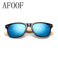 New Bamboo Sunglasses Brand Designer Men&Women