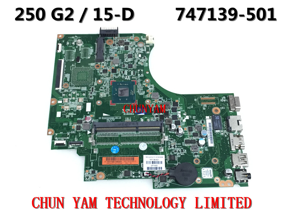 747139-501 FOR HP 15-D 250 G2 Laptop Motherboard 747139-001 Intel Celeron N2810 Mainboard 90Days Warranty 100% tested(China (Mainland))