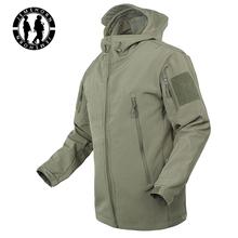 TAD Brand Jacket V4.0 Military Tactical Men Jacket Lurker Shark Skin Soft Shell Waterproof Windproof Men windbreaker Jacket Coat(China (Mainland))
