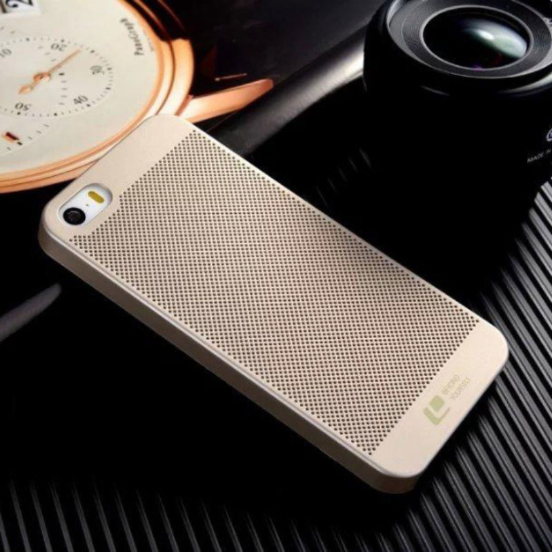 High quality Mobile Phone Cover For iPhone 5 Case Ultra thin Hollow Mesh Hard Case for iphone 5 5S 5C SE Mobile Phone(China (Mainland))