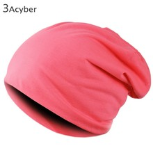 Hot 7 Color Solid New Unisex Acrylic Knitted Hat Autumn Elastic Beanie Casual Line Cap For Men Sport Ski Winter 35(China (Mainland))
