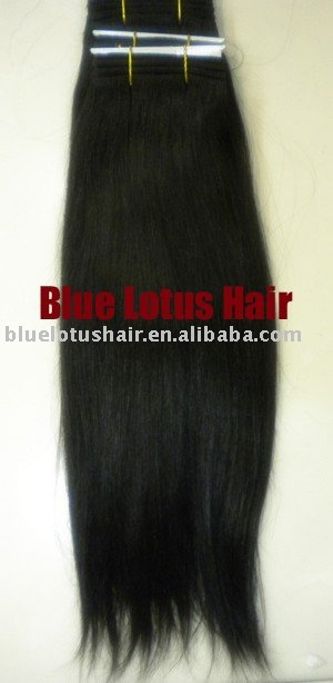 Indian remy hair wefts Straight + - Blue Lotus Hair store