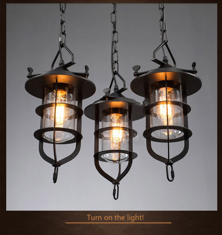 Industrial Style E27 220v Edison Bulb Pendant Light Creative Individual Bar Lamps Chain Wire CYP2(China (Mainland))