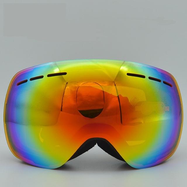 Новый лыжные очки двухместный UV400 анти-туман большой лыжная маска очки лыжи мужчины женщины снег сноуборд очки