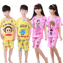 Girls And Boy Pajama Sets Minnie Mouse Pijamas Kids Cartoon Character Pajamas Boys Sleepwear Pyjamas Kids New Children's Pajamas