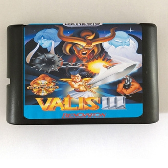 Games Cartridge - Valis III Valis 3 For 16 bit Sega MegaDrive Genesis Sega Game console<br><br>Aliexpress