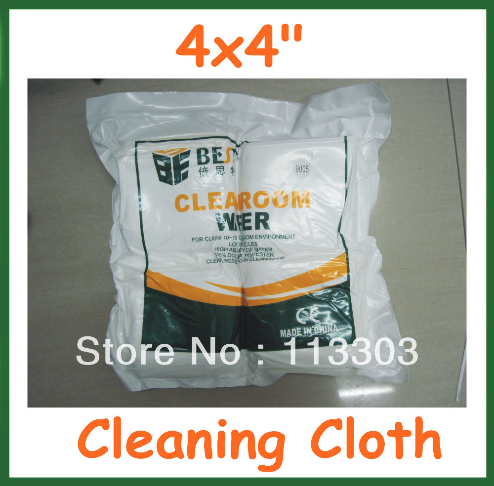 """400pcs Microfiber Cleaning Cloth for Phone Screen Cloth Glasses Lens Eyeglasses Wipes Clean Cloth 4x4"""" Free Shipping(China (Mainland))"""