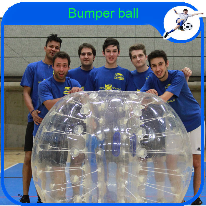 2015 CE 1.5m TPU Zorb Ball Type ,human bubble football suit,inflatable bumper ball(China (Mainland))