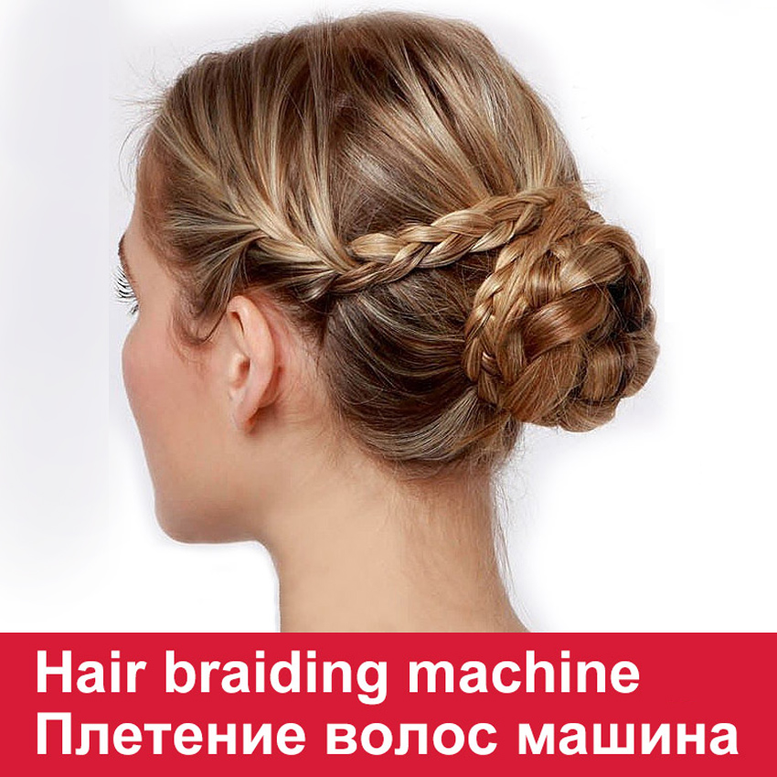 Electronic Automatic Magic Hair Braider Diy Roller Easy Quick Automatically Styling Hair Braiding Machine Tools +Retail Package(China (Mainland))