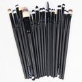 New Pro Cosmetic Makeup Face Powder Blusher Toothbrush Curve Foundation Brush  Wholesale Freeshipping 2016