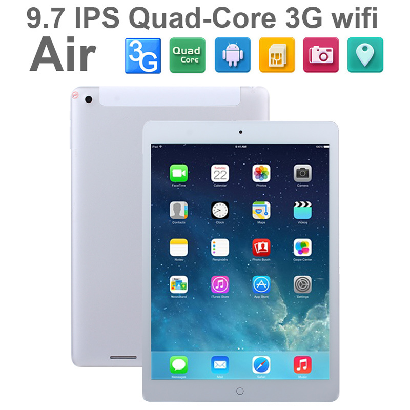 3G Air Pad Tablet PC 9 7inch IPS MTK8382 Quad Core Android 4 4 1GB 16GB