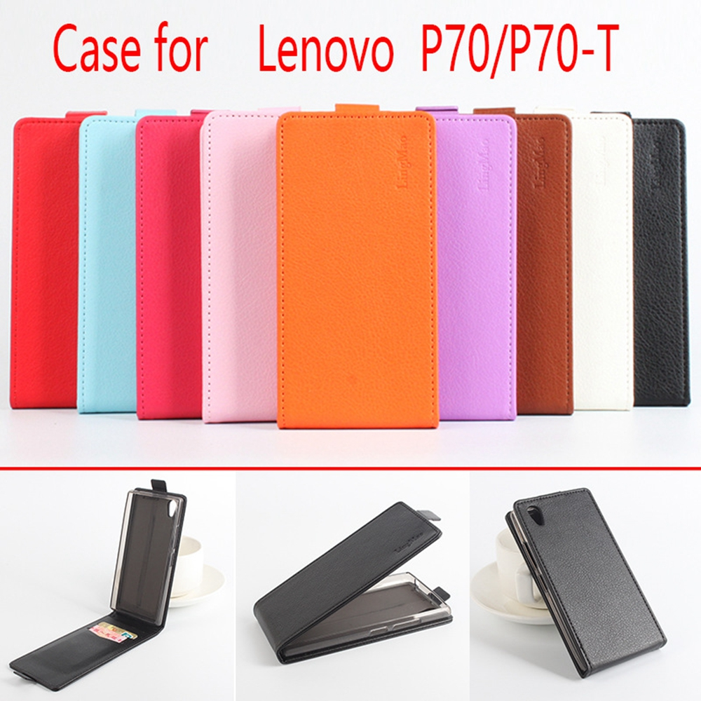 For Lenovo P70 P70T Case Luxury Leather Flip Cover Up-Down Business Coque Bags for Lenovo P 70 T Mobile Phone Cases Accessories(China (Mainland))