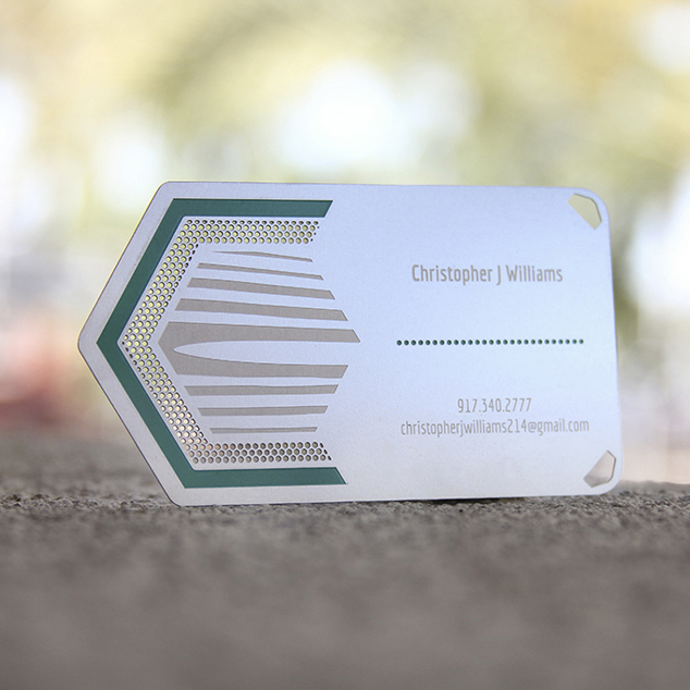 Personalized printing green quality stainless steel business metal card<br><br>Aliexpress