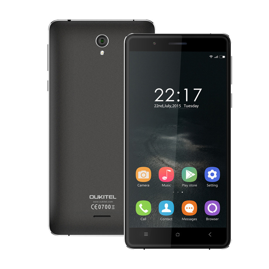 Original Oukitel K4000 4G LTE Smartphone 5.0 inch HD MTK6735 Quad Core Android 5.1 phone Lollipop 2GB RAM 16GB ROM 13.0MP GPS