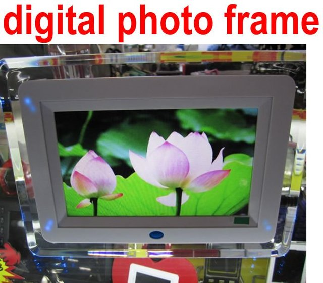 free shipping New 7 inch digital photo frame-Media Picture Frame-Electronic Photo Frame