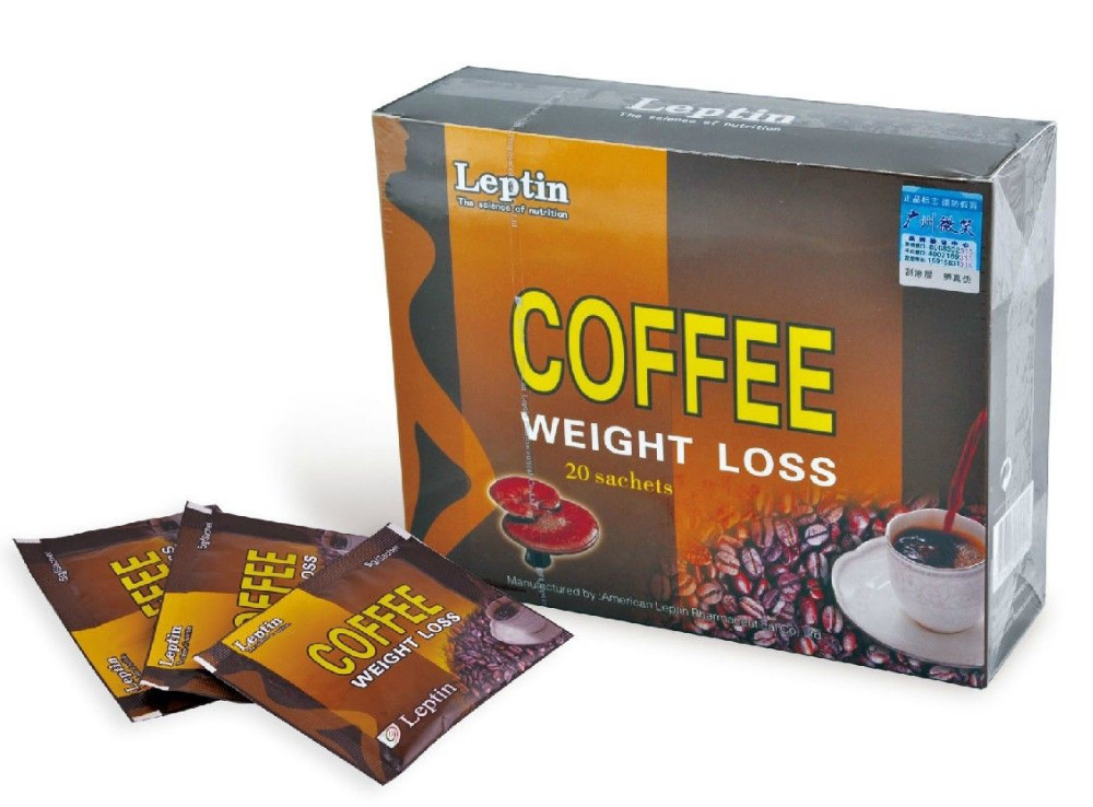 Lingzhi herbal instant coffee Lucid Ganoderma extract inside 20 cups for slim