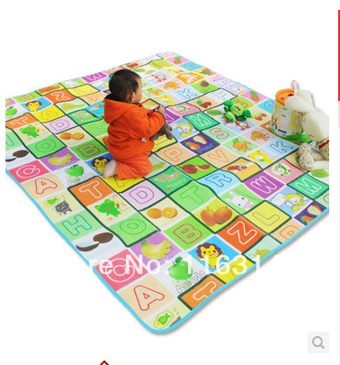 Free delivery baby crawling mat to mat children climbing pad for baby game pad toy folding thickened environmental protection(China (Mainland))