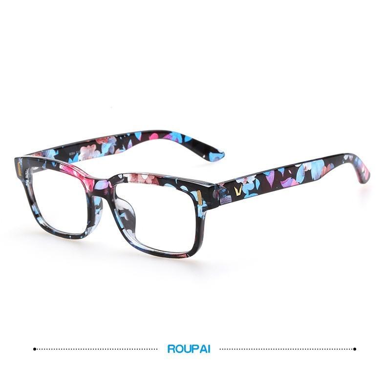 2019 Fashion V Shaped Box Eye Glasses Frames Brand For Men