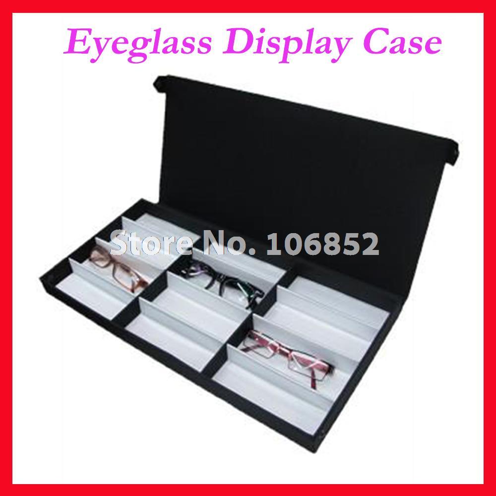 Eyeglasses display - 12a Eyeglass Eyewear Optical Frames Reading Glasses Display Case Box Sample Tray Hold 12pcs Of Glasses