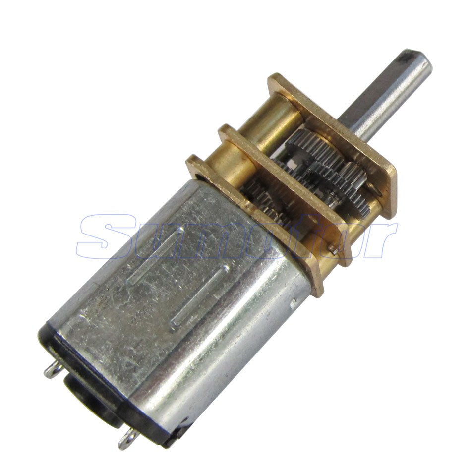12ga dc 3v miniature electric reduction gear motor metal Miniature gear motors