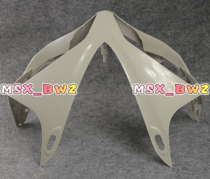 Free Shipping Unpainted ABS Plastic Motorcycle Parts Upper Front Fairing Cowl Nose For YAMAHA YZF R1 2007 2008(China (Mainland))