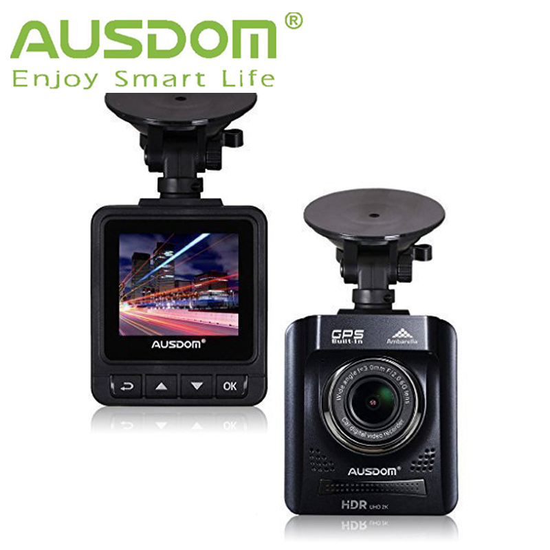 "AUSDOM HD Dash Cam A261Car DVR with GPS 2"" View Screen-Auto Car Dash Camera/ Vehicle Camcorder Type Car Black Box with G-Sensor(China (Mainland))"