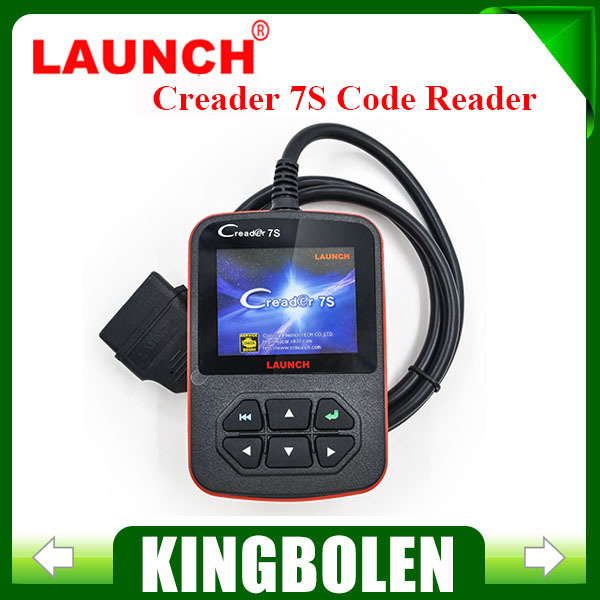 2015 New Released Original Launch X431 Creader 7S Code Reader add Oil Reset Function Creader 7 Plus Update Via Official Website(China (Mainland))