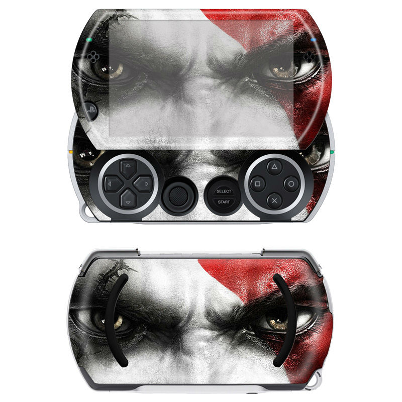 Cool Skull Skin Sticker Vinyl Protector Waterproof Decals for Sony PSP GO Skin Stickers for PSPGO Decor Cover Decals(China (Mainland))