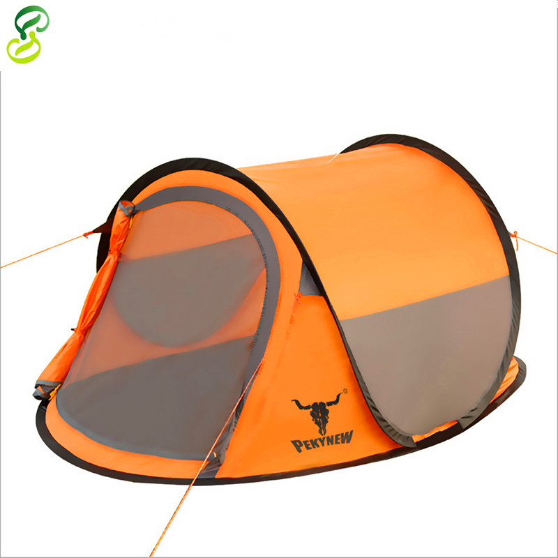 Hot Sell!2015 New Produte Outdoor Camping Tent Double Layer Double Tents Ultralight Beach Party Tent 4 Season Pekynew