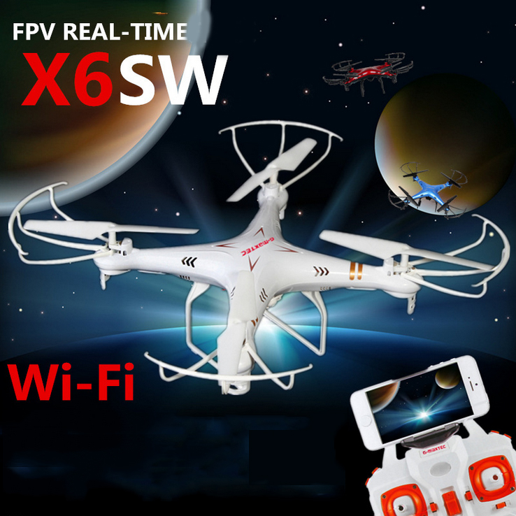 X6sw WIFI Fpv Toys Camera RC Helicopter Drone Quadcopter Gopro Professional Drones with Camera VS X5SW X600 Drone Original Box(China (Mainland))