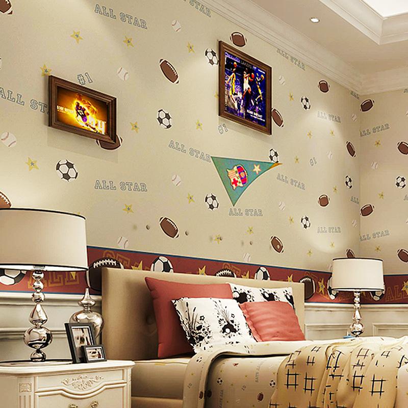 Online kopen wholesale voetbal muur papier uit china voetbal muur papier groothandel for Trend wallpaper voor volwassen kamer