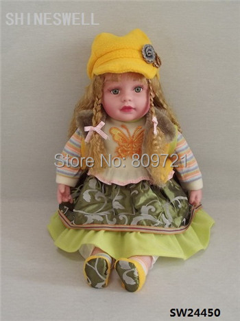 51CM/20 INCH DOLL FREE SHIPPING TOY DOLL , MANUFACTUR PRICE AMERCIAN DOLL, RUSSIAN DOLL(China (Mainland))