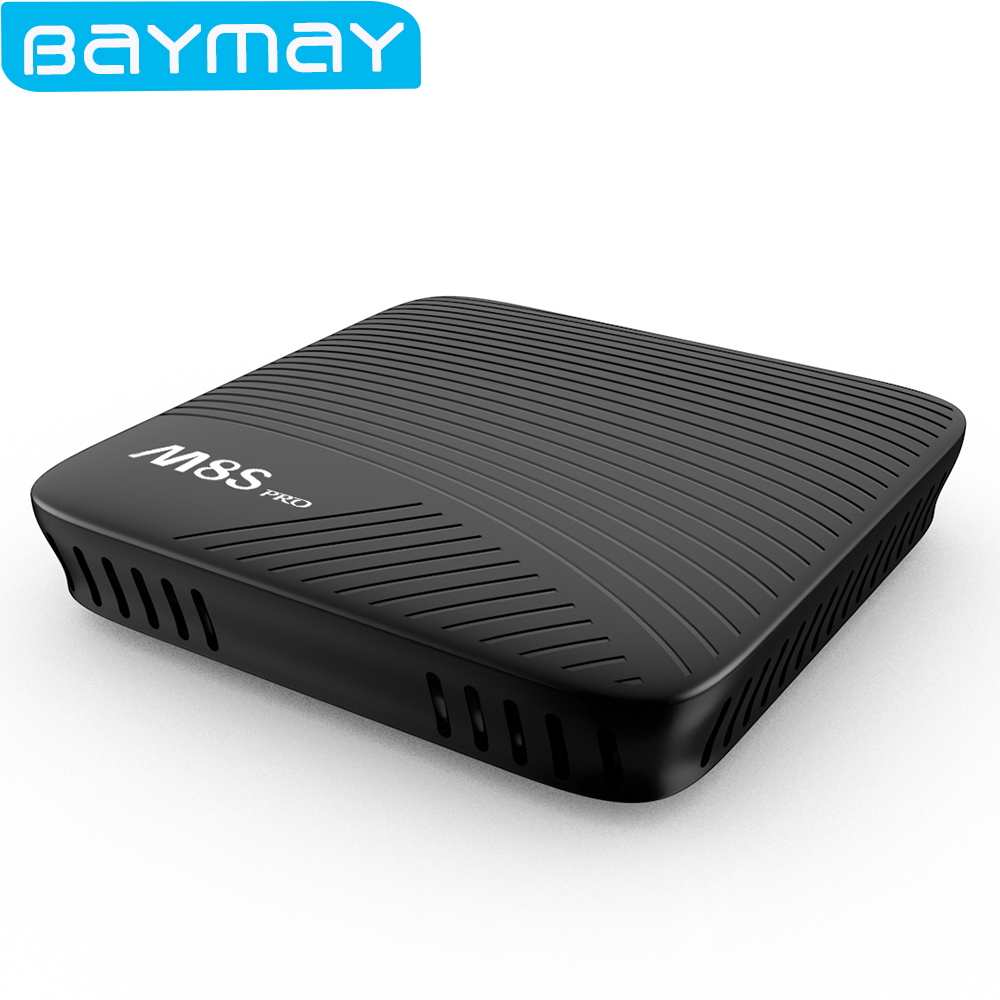 M8S Pro Android TV Box Amlogic S912 Android 7.1 Smart tv box 64 bit Octa Core ARM Cortex-A53 2GB/3GB DDR4 16GB EMMC Flash