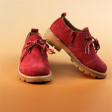 The new autumn in 2016 British restoring ancient ways Children's shoes Private label Non-slip rubber soles Casual shoes(China (Mainland))