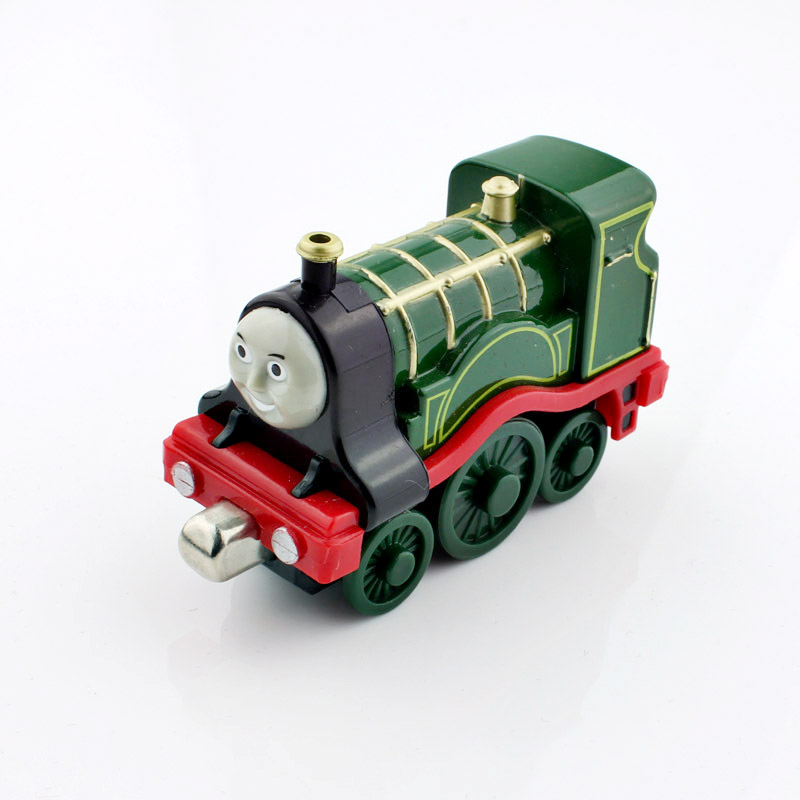 Kids Thomas and friends trains Trackmaster Track Emily steam locomotive magnetic metal diecast alloy models train gift for boys(China (Mainland))