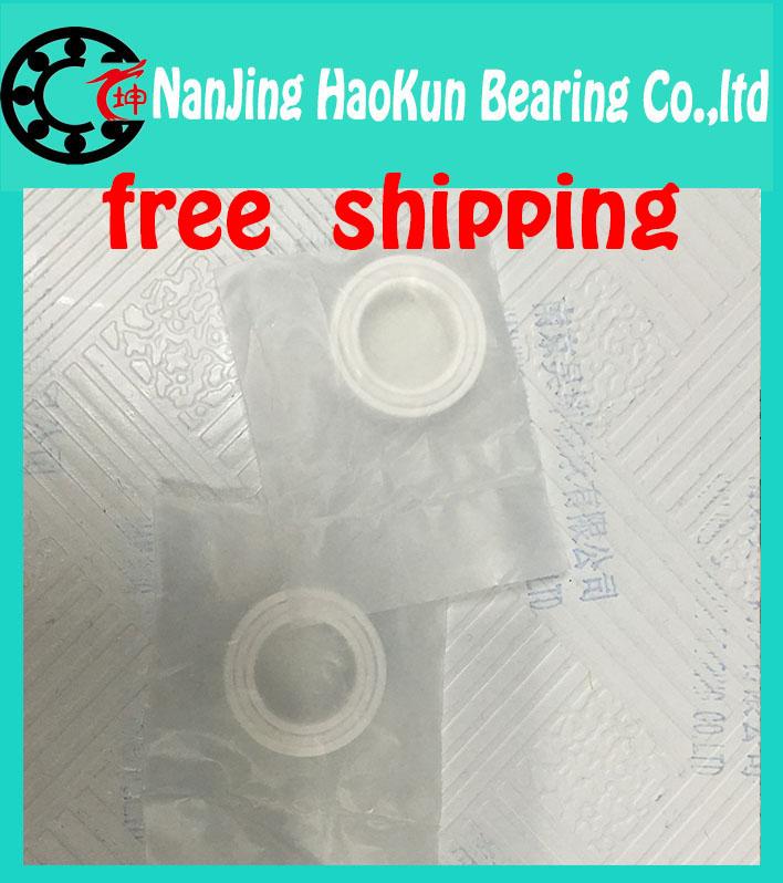 Фотография Free shipping 7206 7206CE ZrO2 full ceramic angular contact ball bearing 30x62x16mm