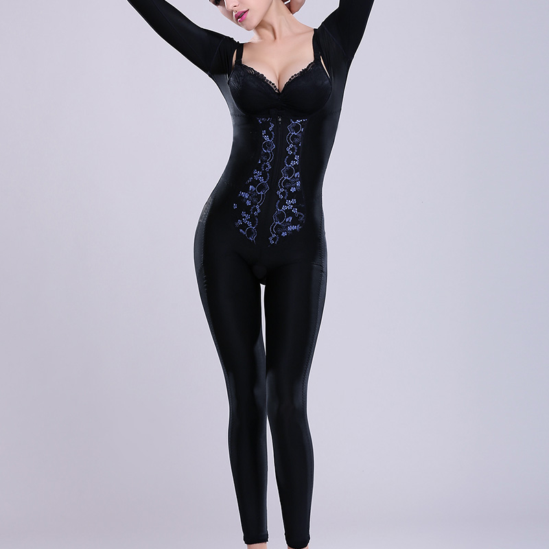 Women High Waist Shapewear Full Body Control Tummy Control Waist Corsets Body Sculpting Shapers Slimming Bodysuits For Female(China (Mainland))
