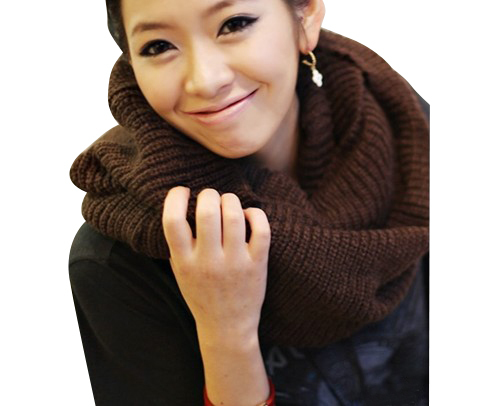 New hot! Unisex Winter knitting Wool Collar Neck Warmer Scarf Shawl Freeshipping(China (Mainland))