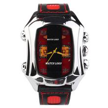 Los nuevos cinco pines macho coche modelo moda mujeres relojes mecánicos de lujo marca relojes banda de cuero reloj de los deportes militares SS00037